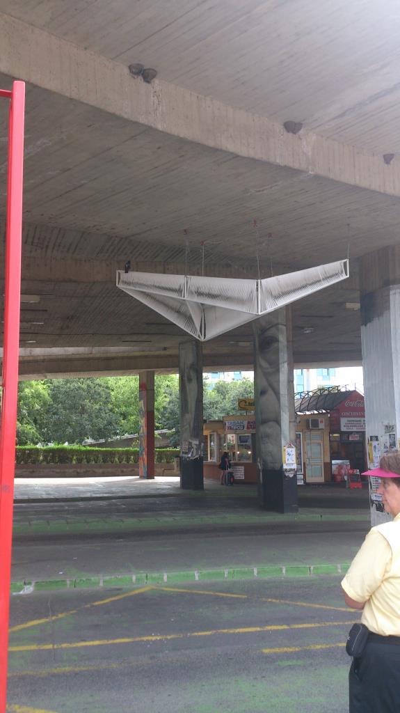 Bussterminal under Most SNP - Bratislava