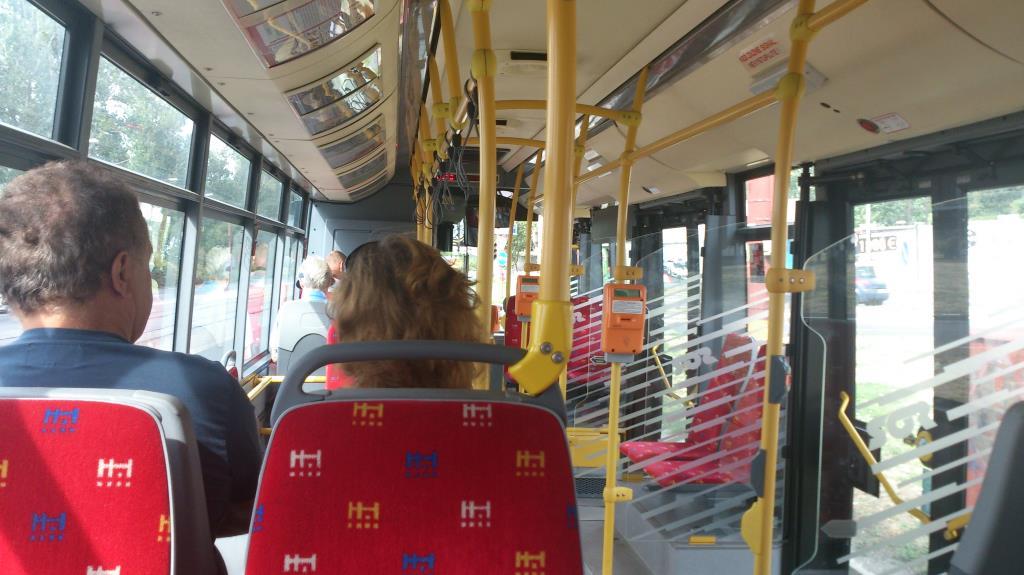 Bussen till Slottet Devin - Bratislava