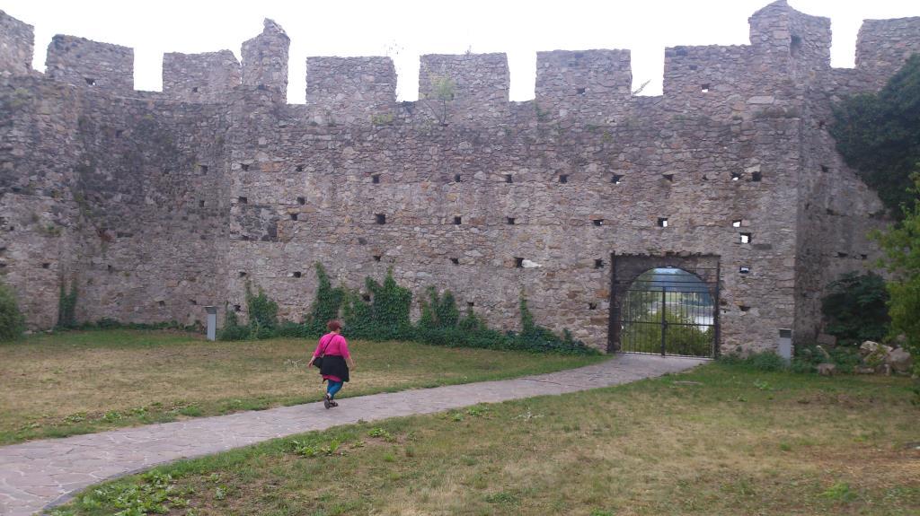 Murverk vid Slottet Devin - Bratislava