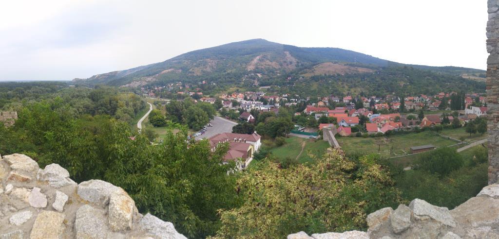 Utsikt från Slottet Devin - Bratislava