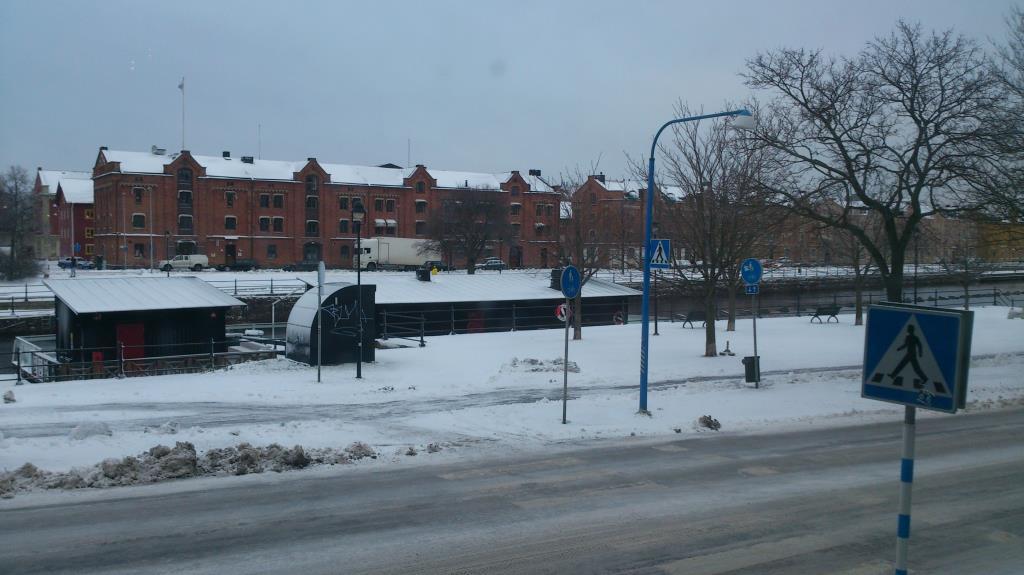 Vinter i Gävle 2014