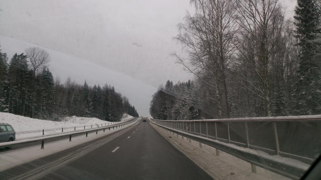 På väg genom Sverige