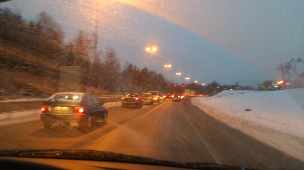 På väg mellan Oslo till Torsby