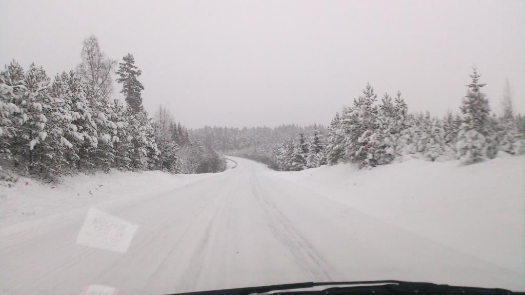 På väg från Torsby till Gävle