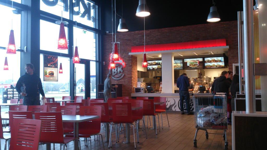 Burger King, Töcksfors