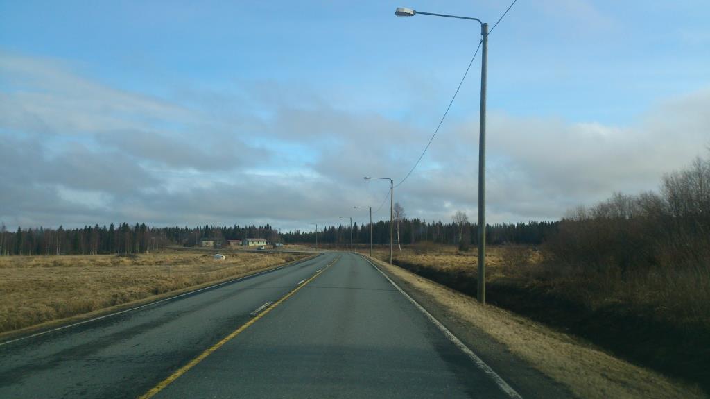 På väg mellan Haparanda och Karasjok