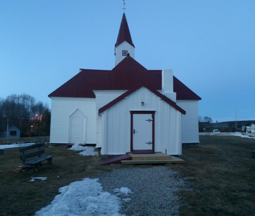 Karasjok gamla kyrka från 1807