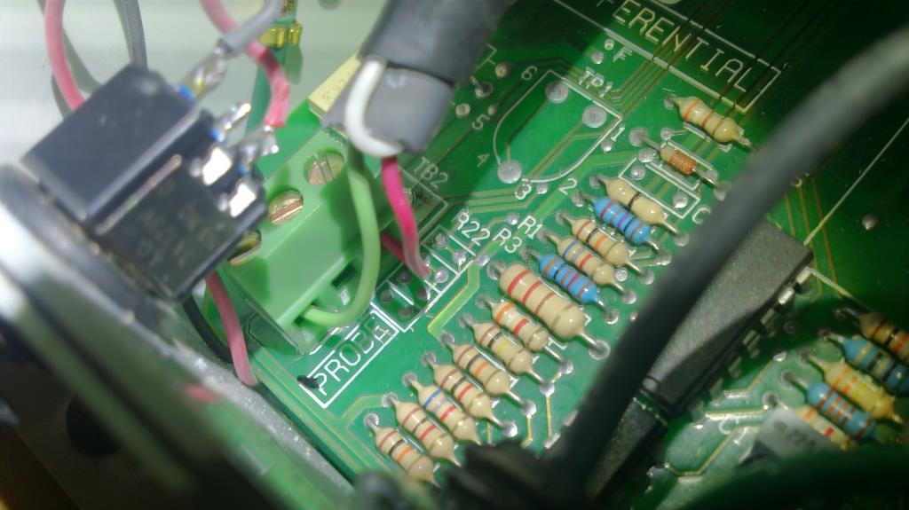 Styrelektronik dimridå