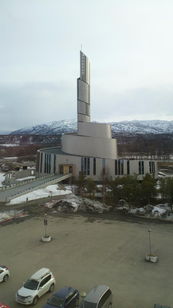 Nordlyskatedralen - Alta