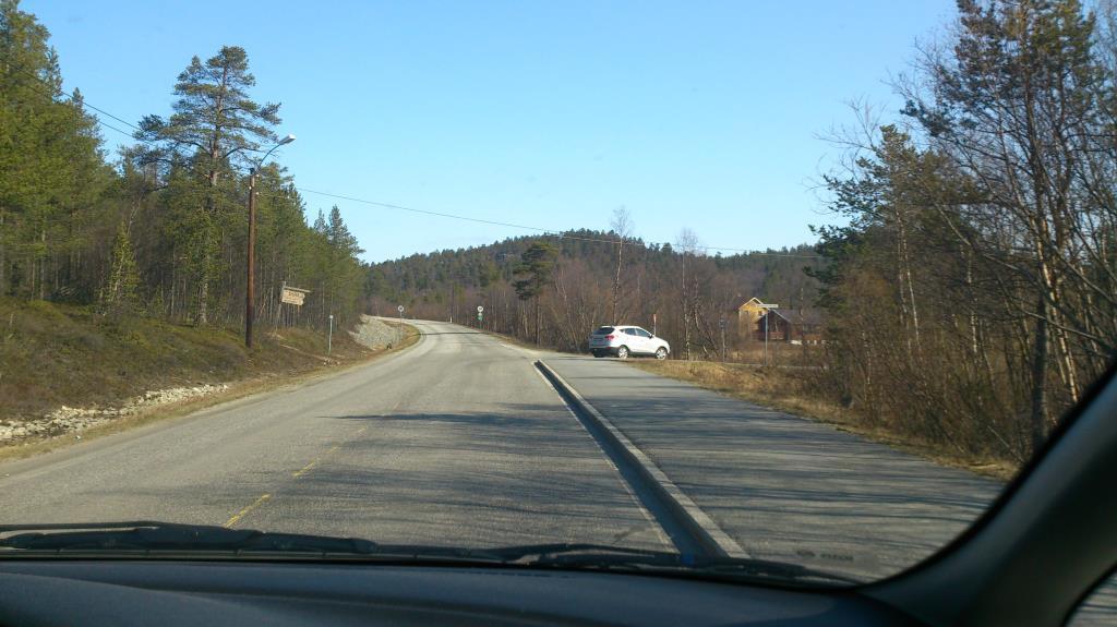På vägen mellan Karasjok och Nordkap