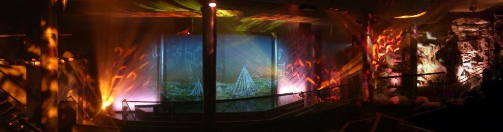 Nordkap - Ljus och Ljudspel i Grottan
