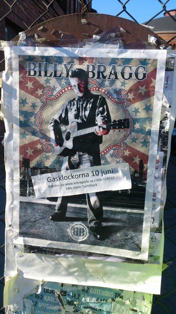 Billy Bragg - Gävle