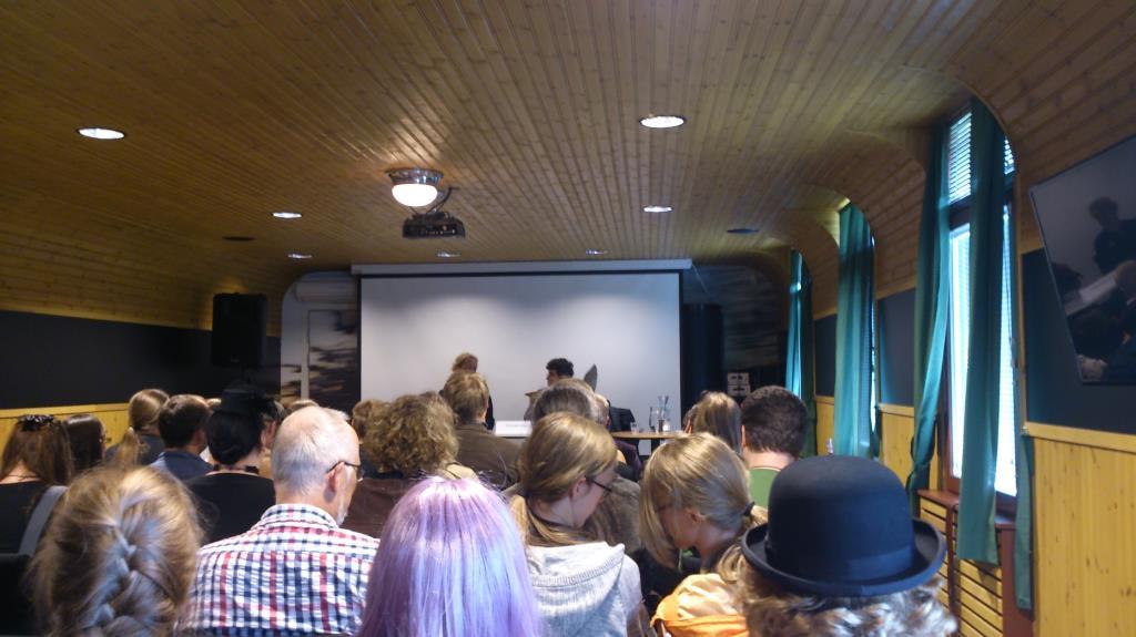 Steampunkfestivalen 2014, Panel kring Dr Who i Konferensen