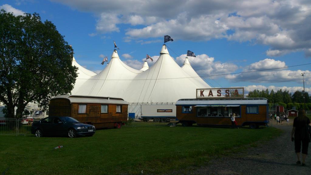 Cirkustältet