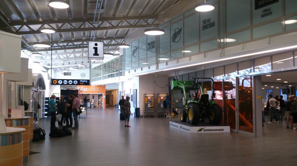 Kallax flygplats, Luleå