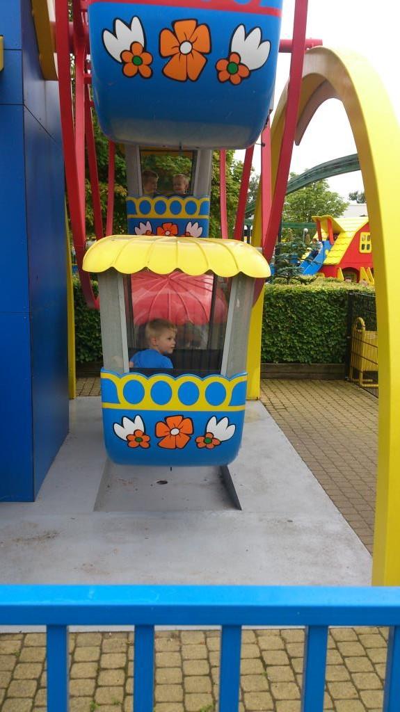 Chalie i pariserhjulet, Legoland