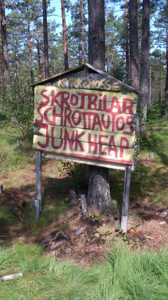 Bilkyrkogården i Ryd - Kyrkö mosse