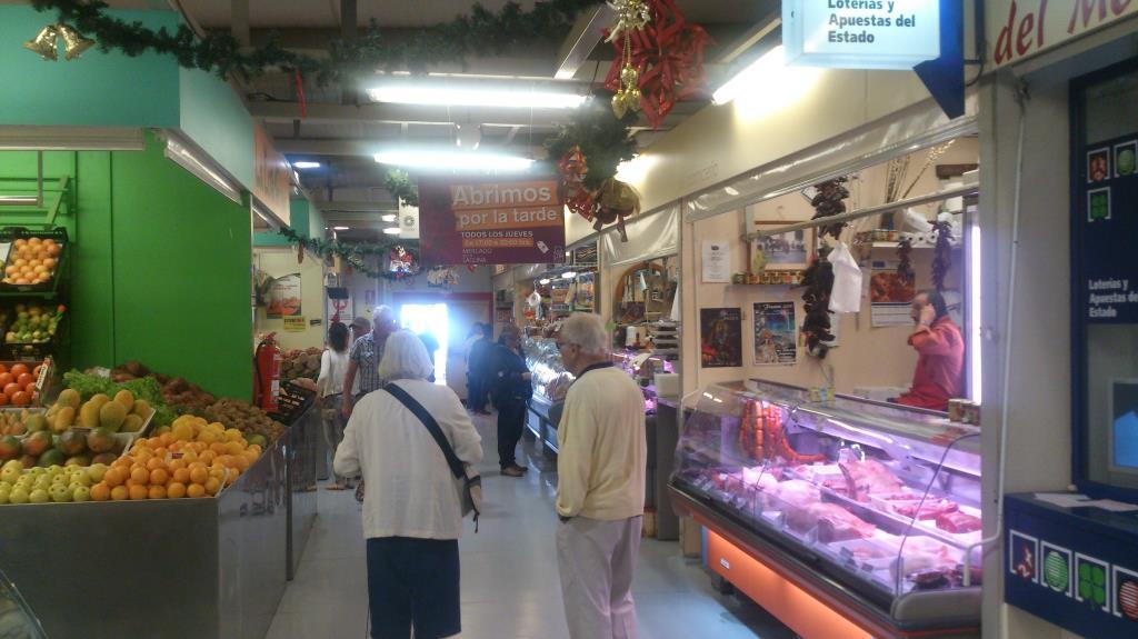 Marknaden i La Laguna, Teneriffa
