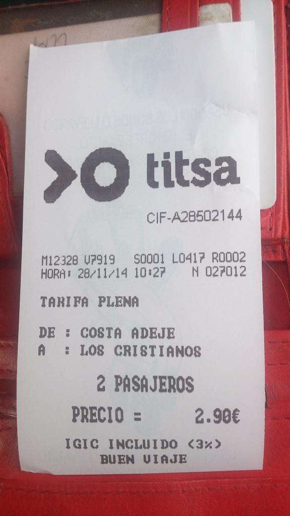 Bussbiljett för 2 personer
