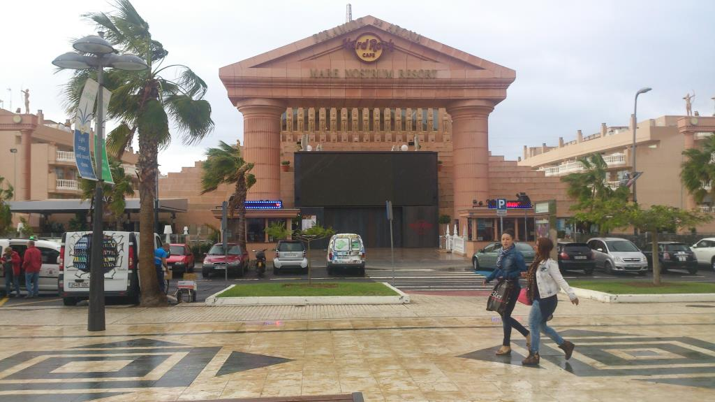 Hard Rock Café. Teneriffa