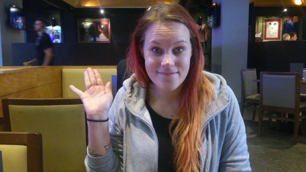 Frida på Hard Rock Café, Teneriffa