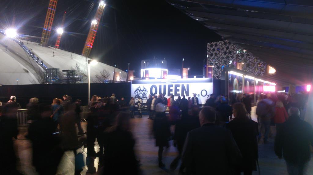 O2 Arena London, Queen