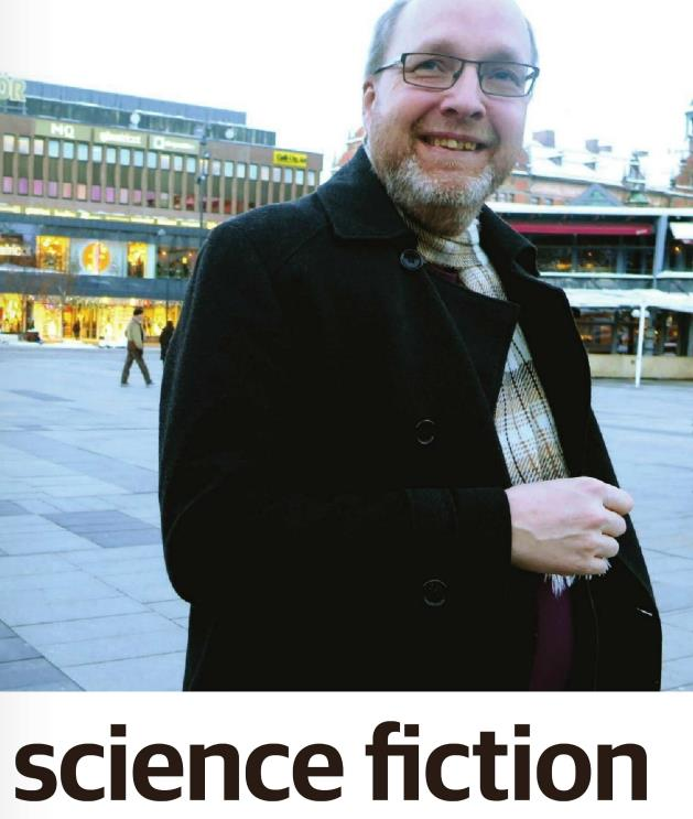Artikel i Mitt Gävle, om Stefan Gemzell och Science Fiction