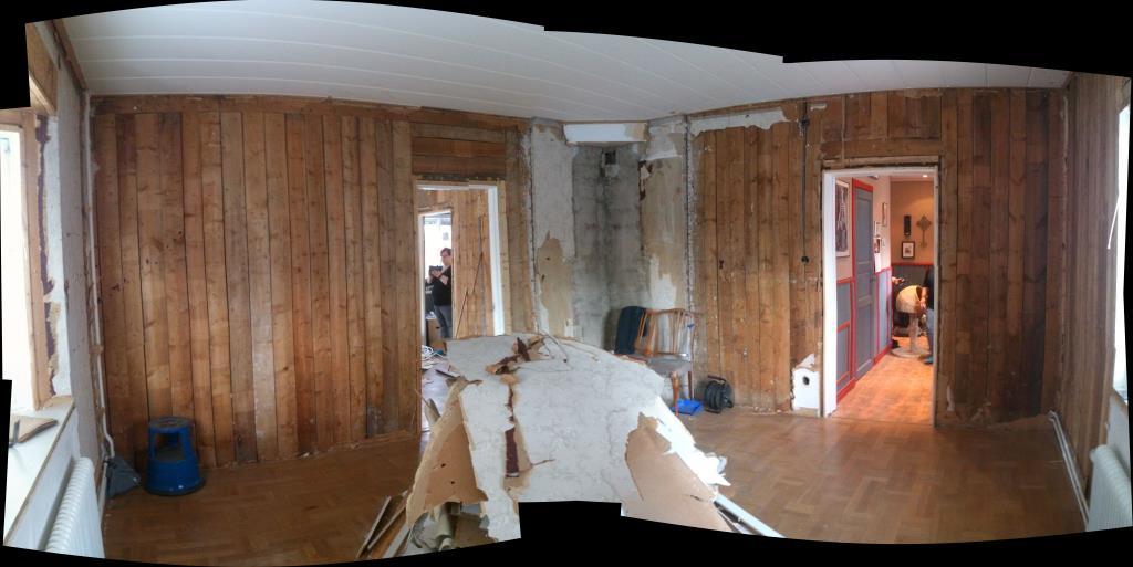 Renovering på gång