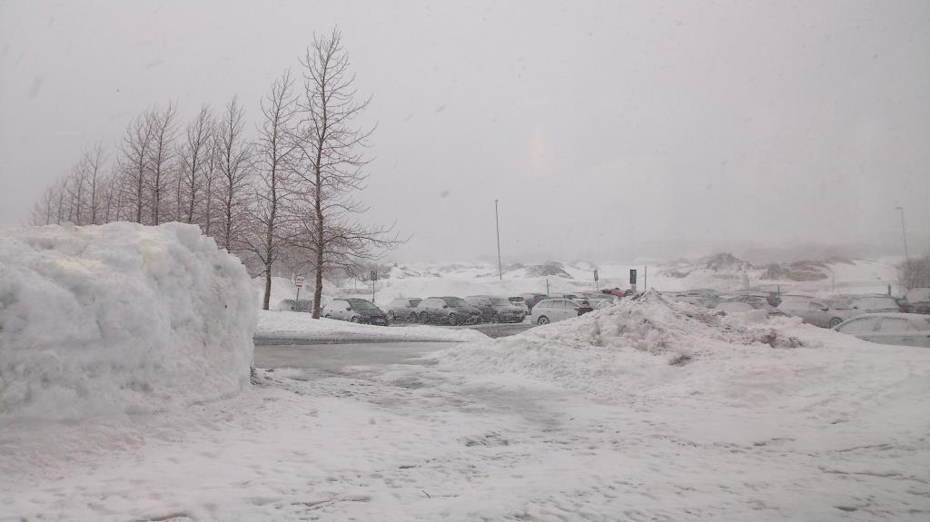Utsikt från Tromsø lufthavn