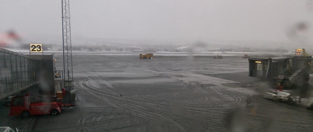 Skitväder, Tromsö lufthavn