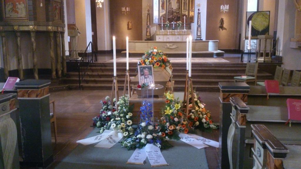Begravningsgudstjänst - Börje Skoog