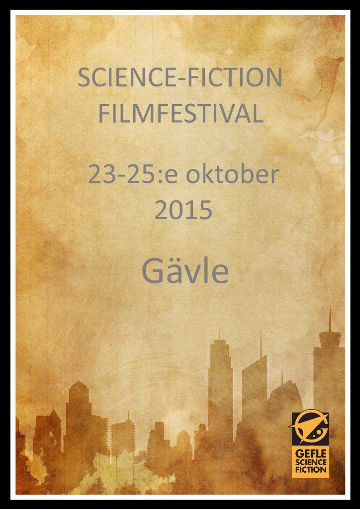 Sci-Fi Filmfestival 23-25:e oktober 2015