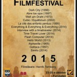 Science-Fiction Filmfestival 23-25:e oktober 2015