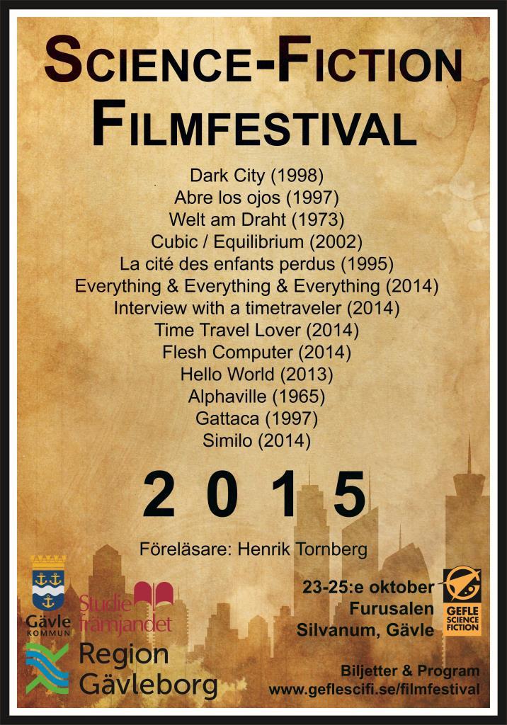 Poster Sci-Fi Filmfestival
