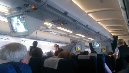 Ving & Thomas Cook flight DK1801 till Teneriffa