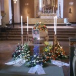 Begravning av Börje Skoog